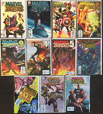 Marvel Zombies Lot 1 2 4 5 Secret Wars Evil Evolution Return Army Darkness Lot