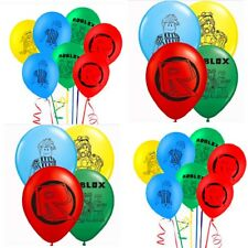 Roblox Latex Balloons Set Of 10. 12inch Roblox Birthday Theme Balloons.