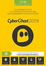 CyberGhost 7 2019 * 3 PC 1 Jahr * Premium Vollversion Lizenz VPN