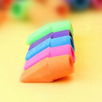 Small Remove Mark Supplies Kids Teacher School Stationery Pencil Eraser