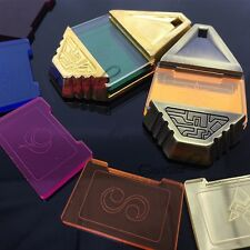 Digimon Tag and Crests BOX Ver.3 The Metal Version Cosplay Digivice Bedge