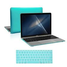 "3 in 1 Hot Blue Crystal Case + Keyboard Cover + LCD for Macbook 12"" Retina"