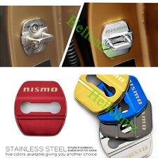 Stainless Steel Car Door Lock Protective Cover Striker  For nismo Accessories