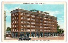 John Wesley Hotel, Savannah, GA Postcard *5Q16