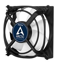 Arctic Cooling F8 Pro 80mm Case Fan with Vibration Absorption, 56CFM @ 2000rpm