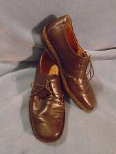 Men's Terra Plana Brown Leather Oxfords Size 8 M