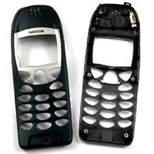 Neu: Original Nokia 6210 Gehäuse Front Cover Oberschale schwarz