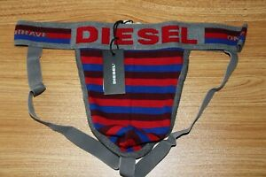 Diesel Men's only the Brave Limited edition  Multicoloured jockstrap size Large