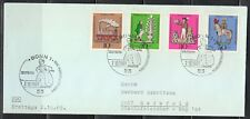 Germany 1969 FDC Mi 604-607 Sc B450-B453 .Tin Toys .Bonn