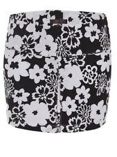 Gonne e minigonne da donna casual floreale corto, mini