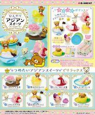 06/18 Re-Ment Miniature Sanrio Rilakkuma Cold Asian Sweets Full set of 8 pcs