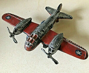 CAST IRON REPRO. WW2 AIRPLANE