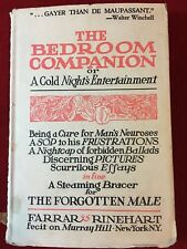 1935 THE BEDROOM COMPANION OR A COLD NIGHT'S ENTERTAINMENT-HBDJ