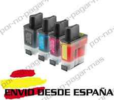 4 CARTUCHOS COMPATIBLES NonOem BROTHER LC900 MFC-425CN MFC425CN