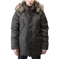 Men's True Religion Parka/Coat/Jacket Olive Green Size Large Retail $498