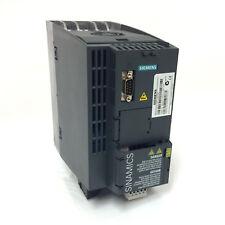 INVERTER Drive 6SL3210-1KE21-7AB1 Siemens 7.5 KW 6SL32101KE217AB1 * montato *