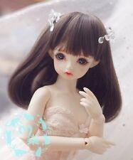 1 6 6-7 Yosd Wig BB Dal BJD SD DOD DOC LUTS supper Dollfie Doll wigs brown