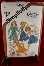 Simplicity 5468 Size 14 Clothing Pattern