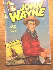 JOHN WAYNE #5 COMIC GOLDEN AGE OCTOBER- 1950-GOOD CONDITION