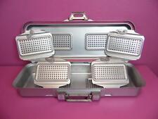 "Genesis Da Vinci Sterilization Sterilizer Autoclave 11x 28 x 4.5"" Container Case"