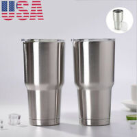 Travel Mug 30oz Stainless Steel Tumbler Double Vacuum Insulated Coffee Cup 2pcs