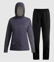 NWT! Women's Paradox 2.5 Beyond Limits Waterproof Rainsuit JACKET+PANTS-GRAY XL