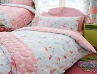 Kids Club  Magical Unicorn Fairies and Rainbows  Duvet Sets  Single- Double Bed