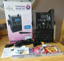 Easy Karaoke Band Set - EKS 515 Black Boxed + 3 additional Karaoke CDs