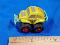 70s VTG Yellow VW Beetle Custom Baja Friction Toy Car Monster Truck 4x4 Daily