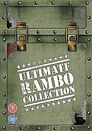 Rambo - The Ultimate Rambo Collection DVD, 2008, 4-Disc Set, Box Set