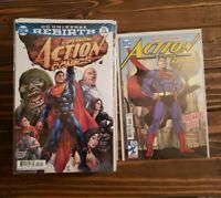 Action Comics Rebirth 957-1000, + 957 Variant. Complete Run. NM High Grade Set