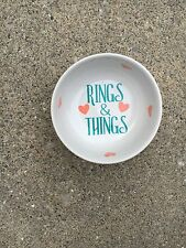 Ring Dish /Jewelry Holder