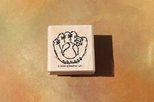 Stampin' Up! Baseball Mitt small single, 2002 FREE SHIPPING!