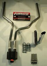 2007 2014  silverado Dual Exhaust Flowmaster Super 10 series muffler W/Tips