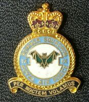 No 9 Bomber Squadron RAF Royal Air Force Enamel Badge.