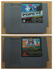 popeye / wild gunman nes nintendo pal A (prezzo cadauno single game)