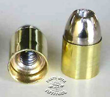 44 MAG BRASS BULLET NUTS for LICENSE PLATES & WINDSHIELDS