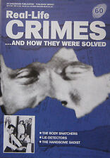 Real-Life Crimes Issue 60 - Nevill Heath, Burke & Hare the body snatchers