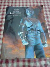 MICHAEL JACKSON 1997 HISTORY WORLD TOUR PROGRAMME LARGE FORMAT 15 X 12 INCH