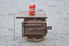 iron smelter old metal smelting oven small furnace oven iron door stove FREE DEL