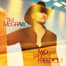 TIM McGRAW - TWO LANES OF FREEDOM CD *NEW*