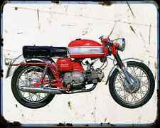 Aermacchi_Ala_Verde_250 70 A4 Metal Sign Motorbike Vintage Aged