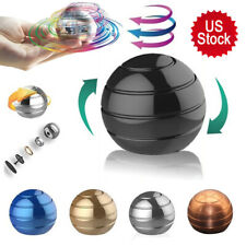 USA Desktop Decompression Rotating Spherical Gyro Ball Office Stress Relief Toy
