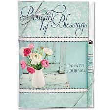 BOUQUET OF BLESSINGS CHRISTIAN FAITH PRAYER NOTEBOOK JOURNAL & PEN GIFT SET