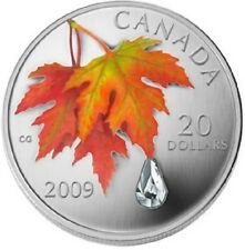 Canada / Kanada - 20$ 2009 Crystal Raindrop
