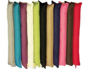 Pack 1/2/4 Fabric Draft Draught Excluder Insulator Cushion Door Window Hallway