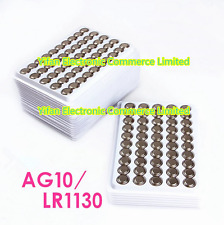 20PCS 1.5V AG10 LR54 389 SR1130 Alkaline Button Cell Watch Battery Batteries