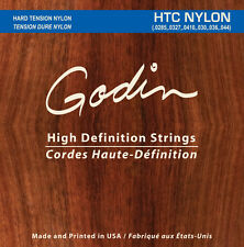 Godin corde in nylon per/strings for Godin MULTIAC e chitarra classica HTC