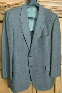 OXXFORD Gray Tweed Wool 2-button Men's Dress/Sport Jacket 46R