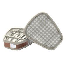 2pcs 6001CN Organic Vapor Filter Cartridge for 6000 Gas Mask Respirator
